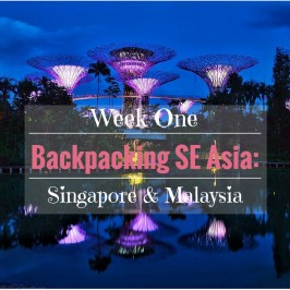 Week One Backpacking SE Asia: Singapore and Malaysia