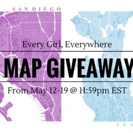 Win & Recieve 15% Off a Customizable Map